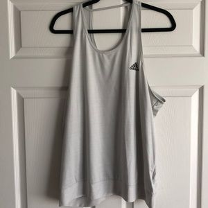 Grey Adidas Workout tank